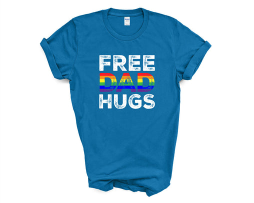 Free Dad Hugs Rainbow