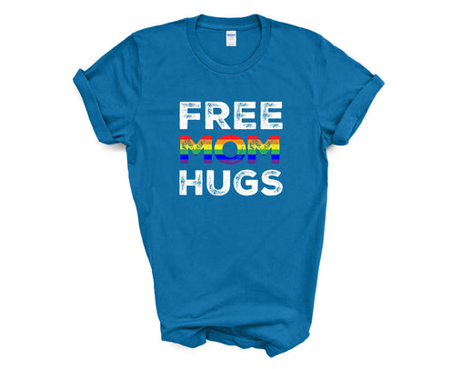 Free Mom Hugs Rainbow