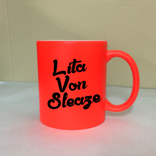 Lita Von Sleaze - Reddish Orange Fluorescent