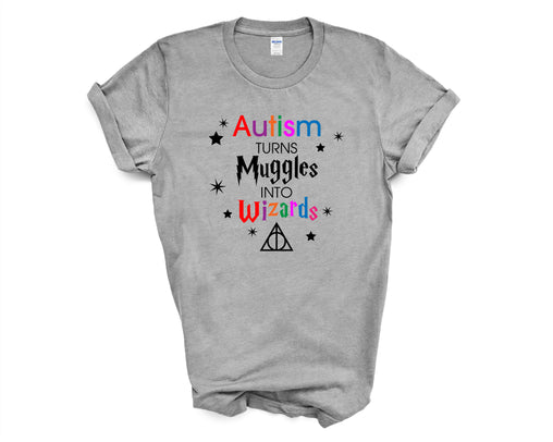 Autism turns Muggles into Wizards