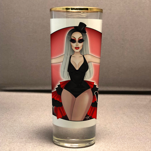 Lita Von Sleaze - Shot Glass