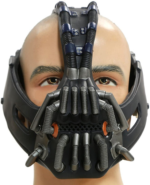 Batman The Dark Knight Rises Bane Mask for Men Halloween Cosplay Costume