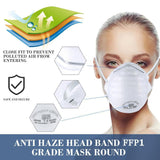 1pc Dust-Proof FFP1 FFP2 FFP3 N95 Masks Mouth Mask Anti Pm2.5 Anti Influenza Disposable Face Mask For Kids Adult Filter Mask