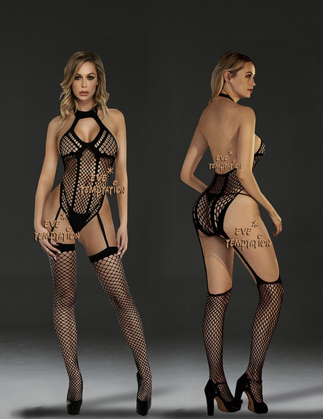 Sexy underwear Costumes Full Body Stocking lingerie for Women