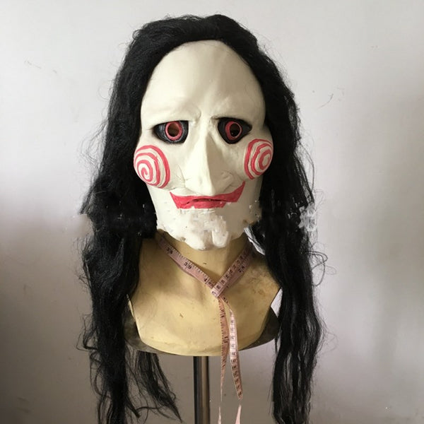 Halloween Mask Movie Saw Jigsaw Mask for Men