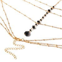 Simple Style Chain Necklace Body Jewelry for Women