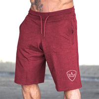 Men 2018 Summer New Loose Cotton Shorts Man Gyms Fitness Knee Length Sweatpants Male Jogger Workout Crossfit Brand Short Pants