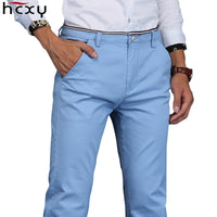 Men pants 2018 New Design Casual hombres pantalones  Cotton Slim Pant Straight Trousers Fashion Business Pants Men Plus Size