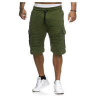 Mens Cargo Shorts Summer Casual Pocket Fitness Shorts Joggers Fashion Men Plus Size 3XL Trousers Sweatpants Short Homme Clothes