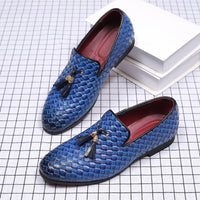 Mens Shoes 2019 New Arrival Leather Formal Shoes Slip-On Business Oxford Shoes Pointed Toe Man Wedding Party Shoes