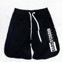 Muscleguys Gyms Shorts Mens Short Trousers Casual Joggers Mens Shorts bodybuilding Sweatpants Fitness Men Workout Acitve Shorts