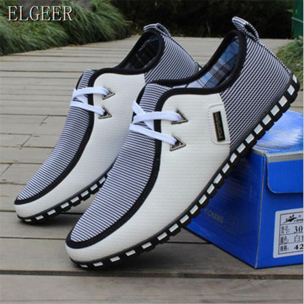 New Breathable Men Casual Shoes canvas shoes Men Sneakers Fashion Trainers For Men Flats Casual Men Shoes