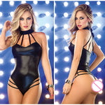 Underwear Women's Erotic Lingerie Sexy Leather Latex bodysuit