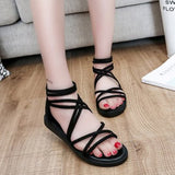 RGKWXYER New Flat Heel Ladies sandals Leisure Bind Beach Shoes Back Zipper Fashion Low Heel Shoes Balance Wild Women's Shoes