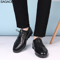 SAGACE Shoes Men's Leather Shoes Summer Fashion Casual Low Shoes Comfortable Tide Shoes High Quality zapatillas hombre 12.APR.19