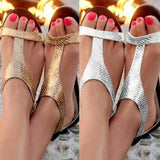 Summer Shoes Woman Sandals 2019 Fashion Open Toe Beach Gladiator Sandals Women Rome Casual Flat Sandals Sapato Feminino