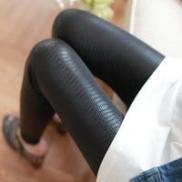 Serpentine Sexy Skinny Leggings Women's Leather Pants