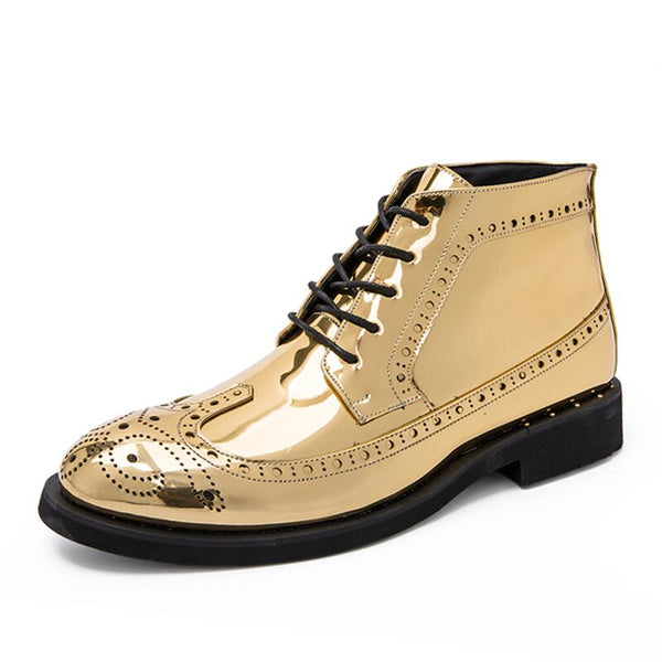 Vancat New Autumn winter Men's Dress Boots Business Men Boots Leather Men shoes Comfortable Outdoor Ankle Boots Casual Shoes