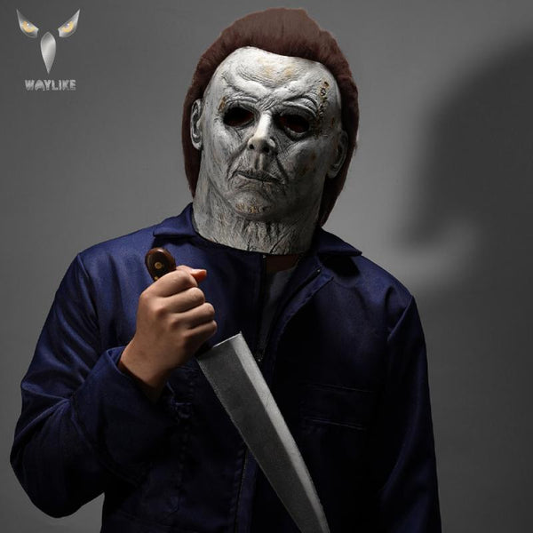 Halloween Michael Myers Halloween Latex Mask for Men
