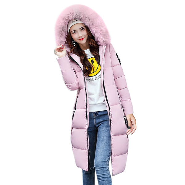 Women's Jacket Women Women Solid Casual Thicker Winter Slim Down Jacket Coat Overcoat Winter Coat Capa