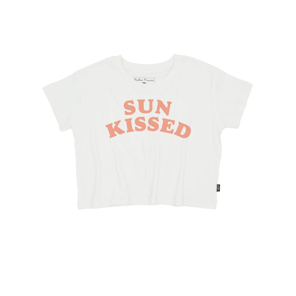 Sun Kissed Crop Tee Kids