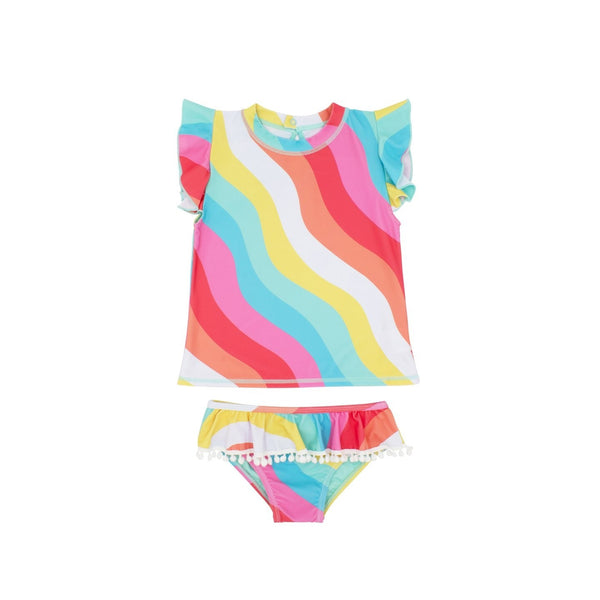 Seashell Ruffle Set 2pc Baby