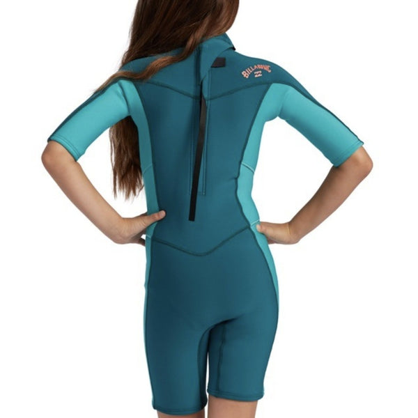 2mm Synergy Back Zip Springsuit