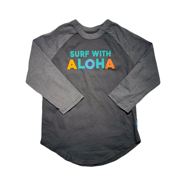 Surf With Aloha LS Tee Kids