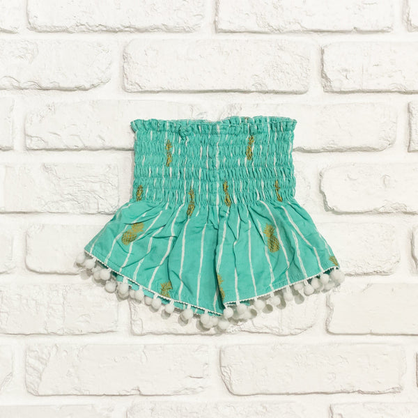 Pineapple Pom Pom Short