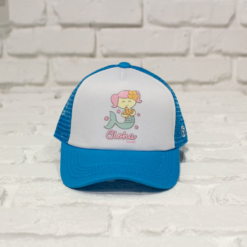 Aloha Mermaid Trucker