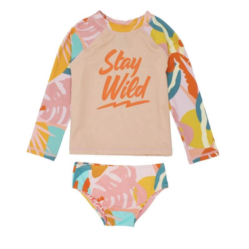 The Tropics LS Lycra 2pc Kids