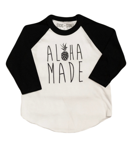 Aloha Made LS Tee Kids