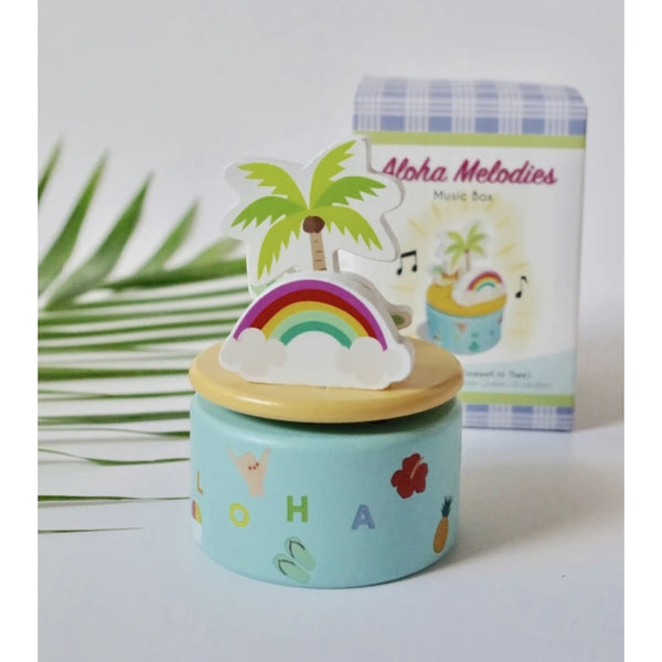 Aloha Melodies Music Box