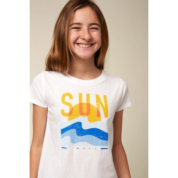 Sun Setting Tee Girls