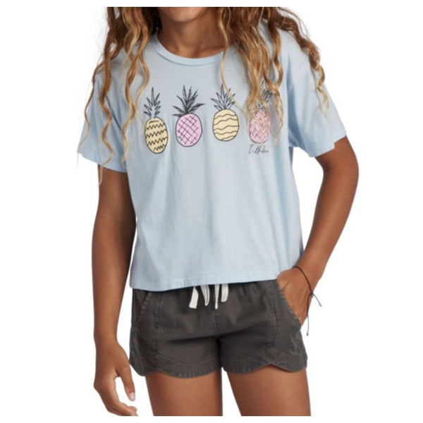 Pineapple Party Tee Girls