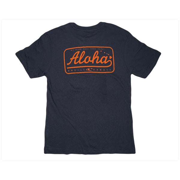 Aloha Badge HI Tee Boys
