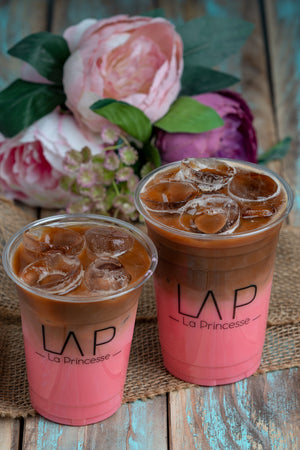 Iced Rose Latte