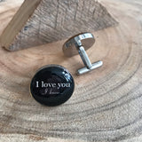 I LOVE YOU, I KNOW CUFFLINKS