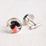 SONG BIRD CUFFLINKS