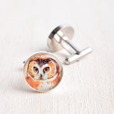 OWL BIRD CUFFLINKS
