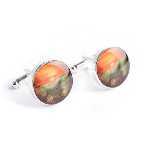GOLDEN SUNSET CUFFLINKS