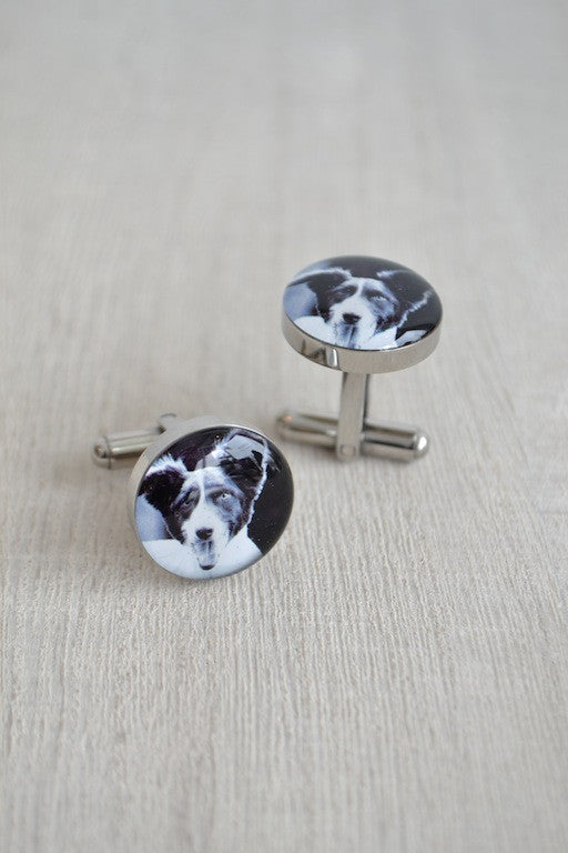 Dog Photo Cufflinks