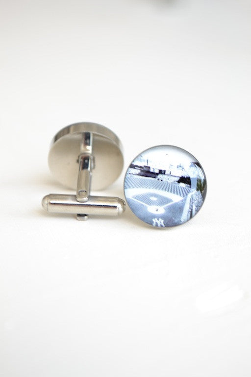 New York Yankee Field Stadium NYC cufflinks