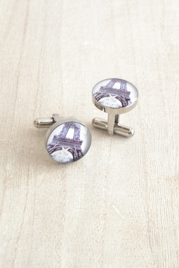 Eiffel Tower Park Cufflinks
