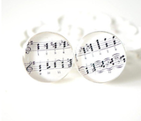 Music Sheet Cufflinks