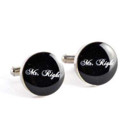 Mr. Right Cufflinks