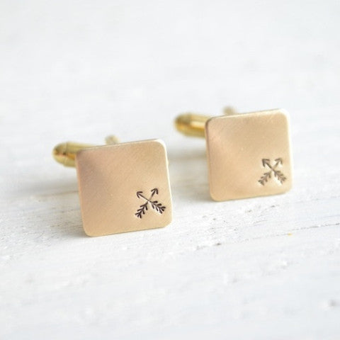 Cross Arrow Cufflinks