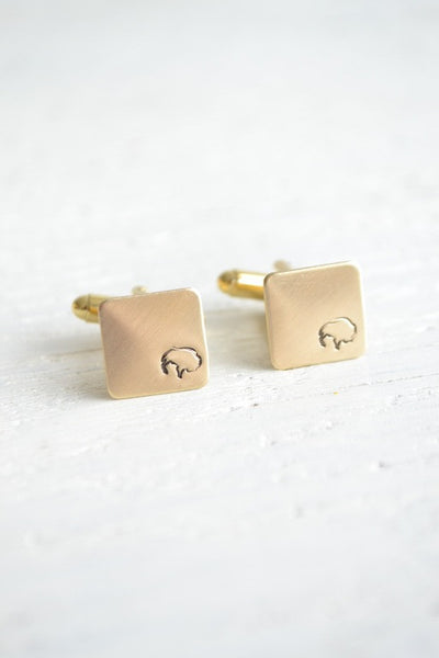 Buffalo symbol cufflinks (BB101)