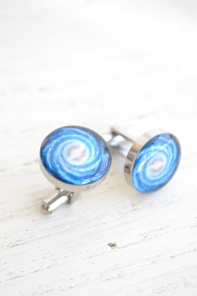 Milky Way cufflinks - Inspired by astronomy (PC102)