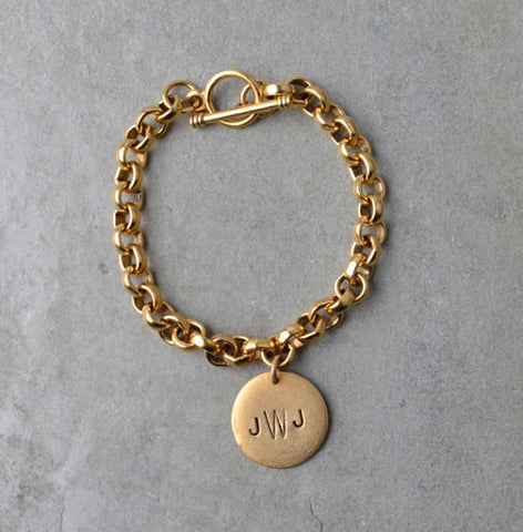 PERSONALIZED MONOGRAM BRACELET - TIFFANY